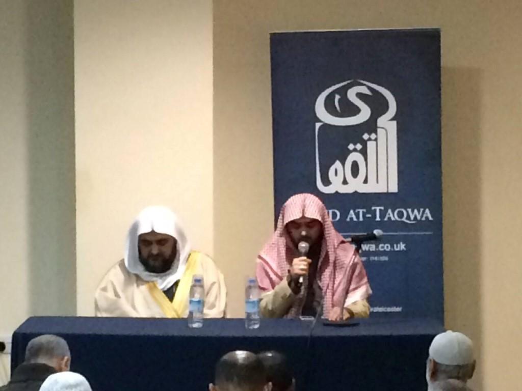 Imam Of Masjid Quba Leads Isha Prayer – Masjid At-Taqwa